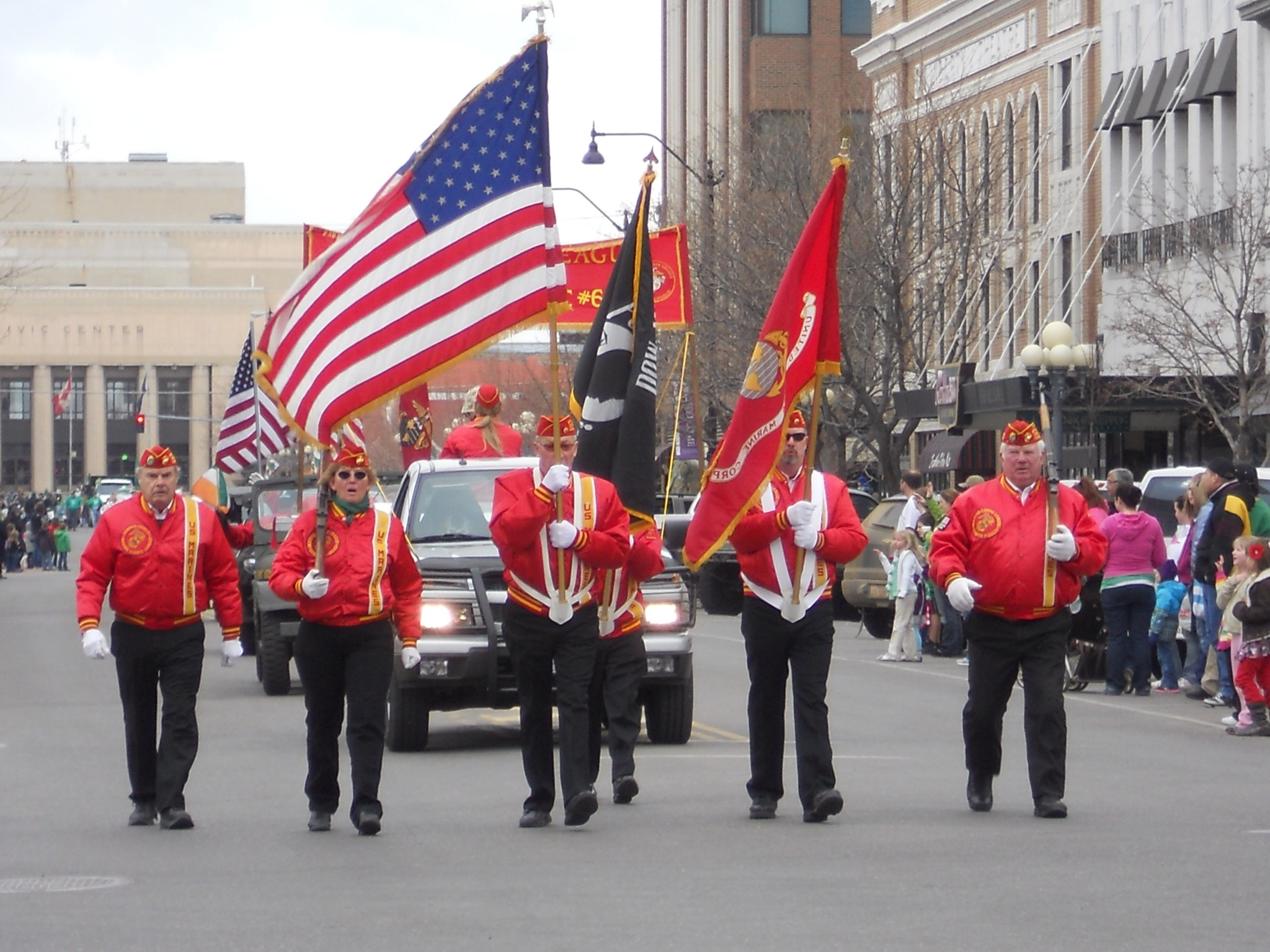 St. Patrick's Day Parade in Great Falls MT
