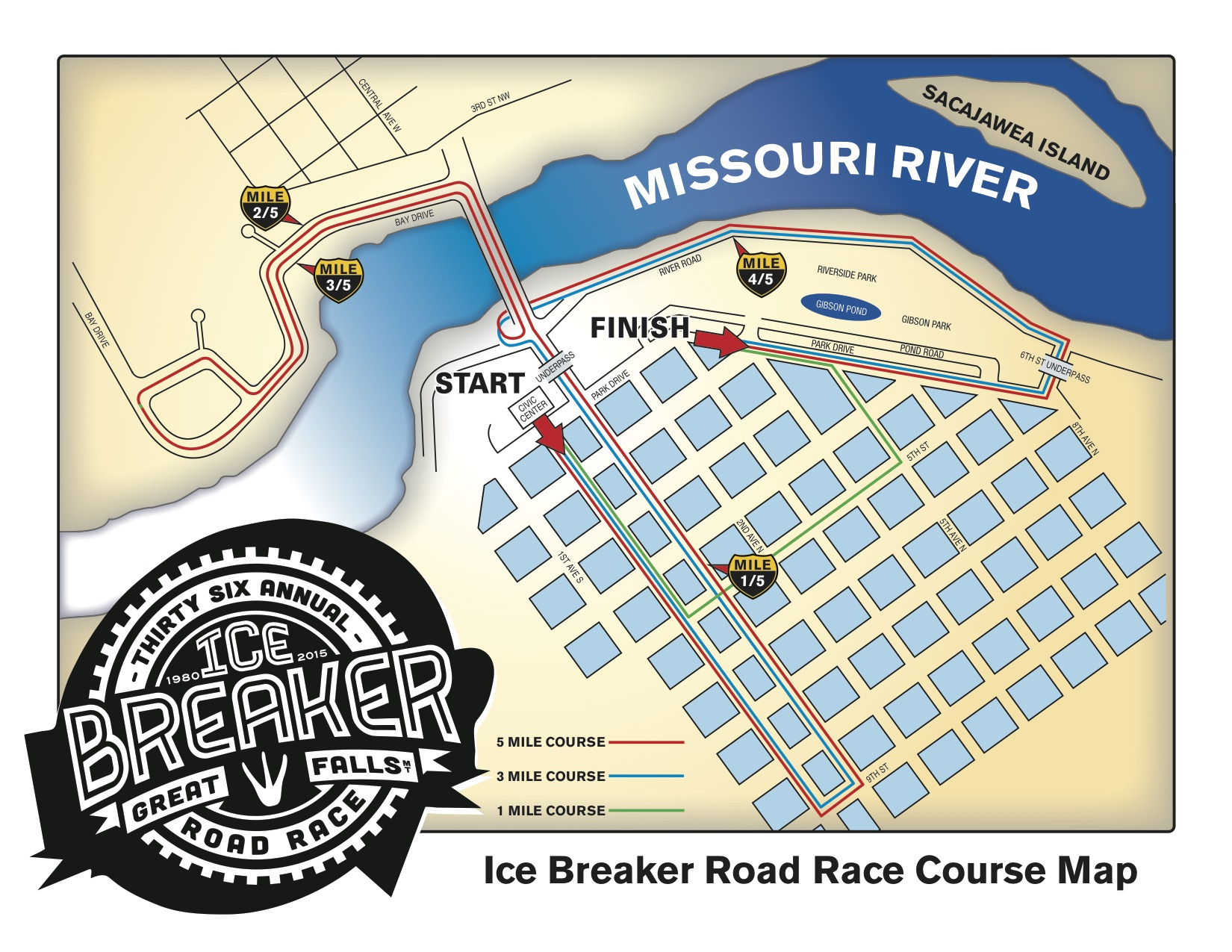 Great Falls Ice Breaker Road Race 2015
